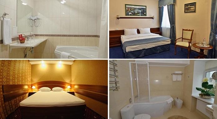 «delux» hotel room, Rivne