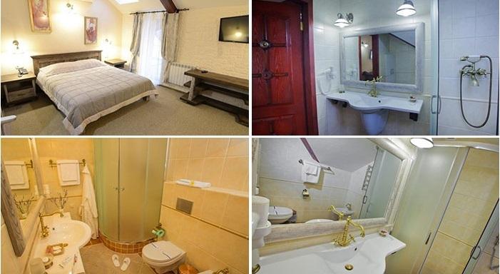 «delux» hotel room, Sumy