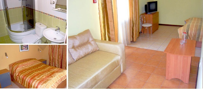 «golden» room for dating at the hotel, Sumy