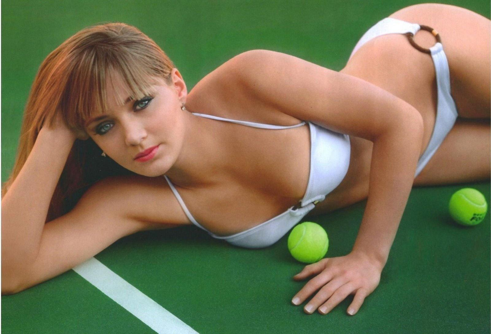 Anna Chakvetadze beautiful Russian tennis player