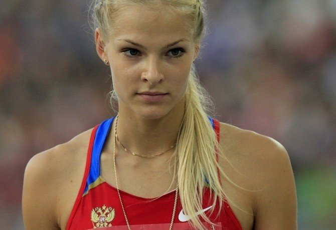 Darya Klishina beautiful Russian athlete