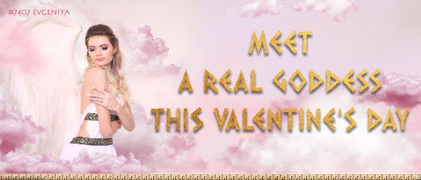 Meet a real Goddes this Valentine's  day