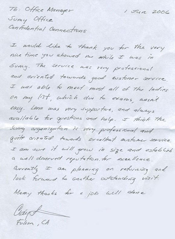 Testimonial from Craig. Ukrainian Marriage Agency