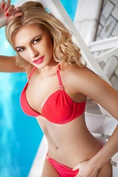 Julie from Dnepropetrovsk 29 years - waiting for husband. My mid primary photo.