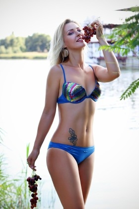 Tanya from Zaporozhye 34 years - sunny smile. My small primary photo.