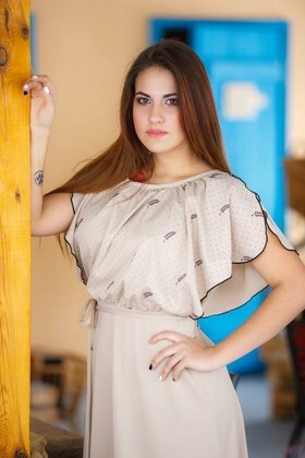 Nastya from Kremenchug 22 years - nice fiancee. My small primary photo.