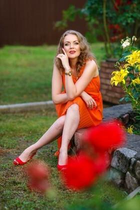 Mira from Kremenchug 37 years - romantic girl. My small primary photo.