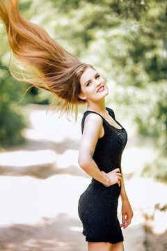 Anastasia from Poltava 23 years - sunny day. My mid primary photo.