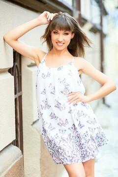 Yuliya from Ivanofrankovsk 25 years - amazing girl. My mid primary photo.