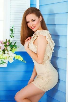 Anastasia from Kiev 22 years - nice smile. My small primary photo.