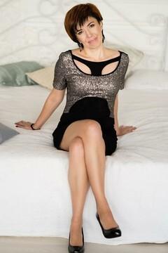 Oksana  46 years - mysterious beauty. My mid primary photo.