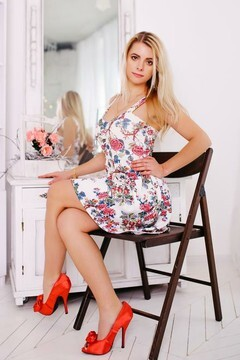 Katya from Cherkasy 29 years - nice fiancee. My mid primary photo.
