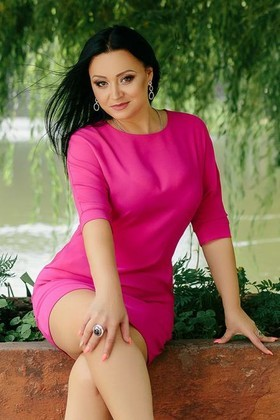 Oksana from Ivanofrankovsk 36 years - bright smile. My small primary photo.
