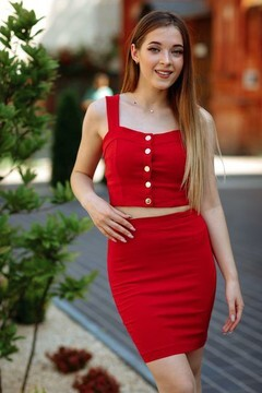 Marinka from Poltava 21 years - sunny smile. My mid primary photo.