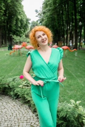 Tetiana from Kharkov 42 years - sunny smile. My small primary photo.