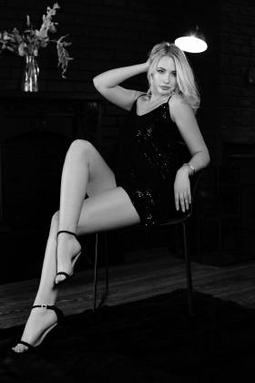 Anastasia from Cherkasy 23 years - intelligent lady. My small primary photo.