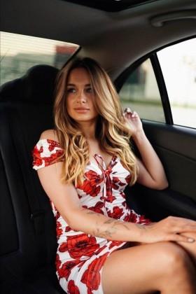 Ksenia from Cherkasy 24 years - seeking soulmate. My small primary photo.