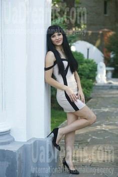 Julia from Sumy 34 years - mysterious beauty. My small public photo.