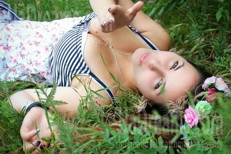 Alyona from Zaporozhye 25 years - sunny smile. My small public photo.