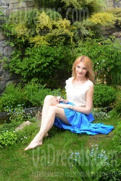Lily from Kharkov 32 years - loving woman. My small public photo.