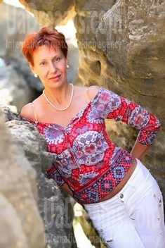 Irina from Odessa 62 years - happy woman. My small public photo.
