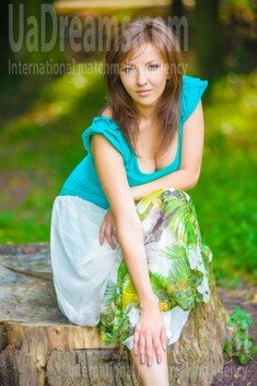 Ira from Ivanofrankovsk 29 years - seeking soulmate. My small public photo.