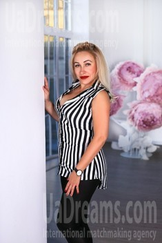 Oksi from Zaporozhye 39 years - girl for marriage. My small public photo.