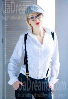 Natalie from Zaporozhye 31 years - waiting for husband. My small public photo.