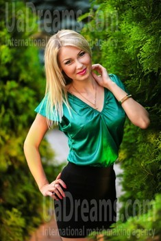 Natalie from Zaporozhye 31 years - bride for you. My small public photo.