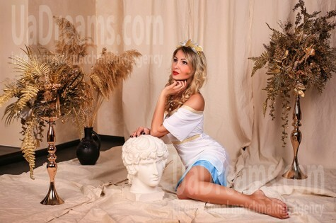 Natalie from Zaporozhye 34 years - romantic girl. My small public photo.