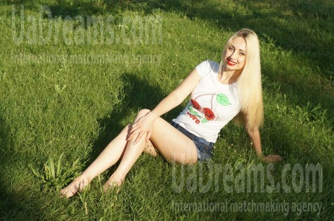 Ksenia from Zaporozhye 36 years - future wife. My small public photo.