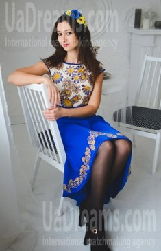 Ulya from Ivanofrankovsk 28 years - future wife. My small public photo.
