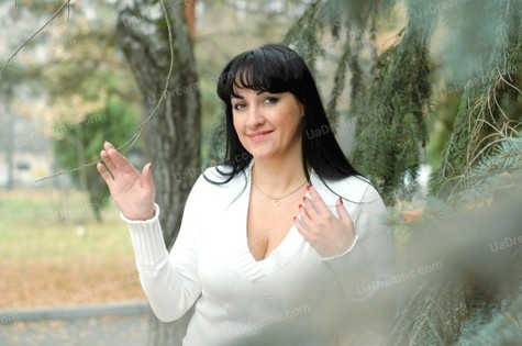 Svitlana 49 years - bright smile. My small public photo.
