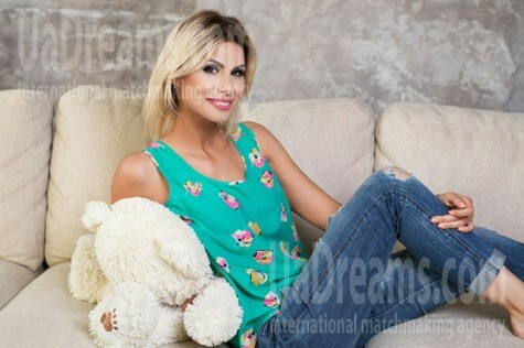 Yana from Dnipro 31 years - intelligent lady. My small public photo.