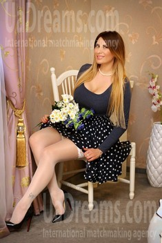 Tanya from Zaporozhye 41 years - eyes with love. My small public photo.