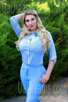 Tanya from Zaporozhye 43 years - good mood. My small public photo.