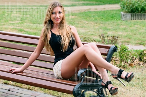 Anna from Cherkasy 23 years - nice fiancee. My small public photo.