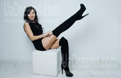 Eugenia from Kharkov 35 years - bright smile. My small public photo.