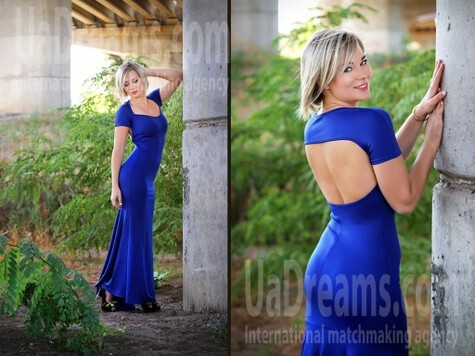 Valerie from Zaporozhye 27 years - nice smile. My small public photo.