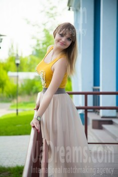 Alina from Sumy 30 years - happy woman. My small public photo.