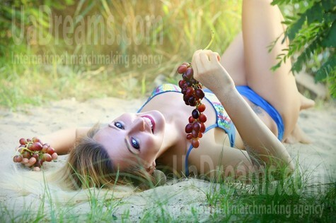 Tanya from Zaporozhye 37 years - waiting for husband. My small public photo.