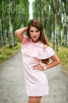 Juliana from Zaporozhye 26 years - nice smile. My small public photo.