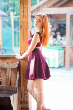 Anastacia from Lutsk 21 years - waiting for husband. My small public photo.