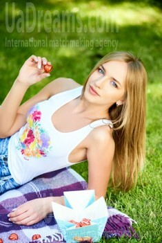 Alina from Ivanofrankovsk 25 years - look for fiance. My small public photo.
