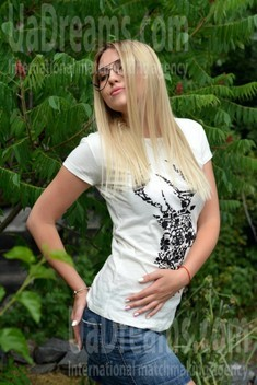 Anya from Kremenchug 27 years - easy charm. My small public photo.