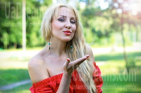 Olechka from Zaporozhye 37 years - carring woman. My small public photo.