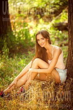 Nastya from Kiev 26 years - single russian woman. My small public photo.