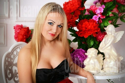 Julie from Zaporozhye 39 years - sunny smile. My small public photo.