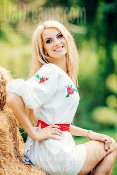 Alla from Cherkasy 34 years - romantic girl. My small public photo.