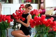Alina from Zaporozhye 36 years - good mood. My small public photo.